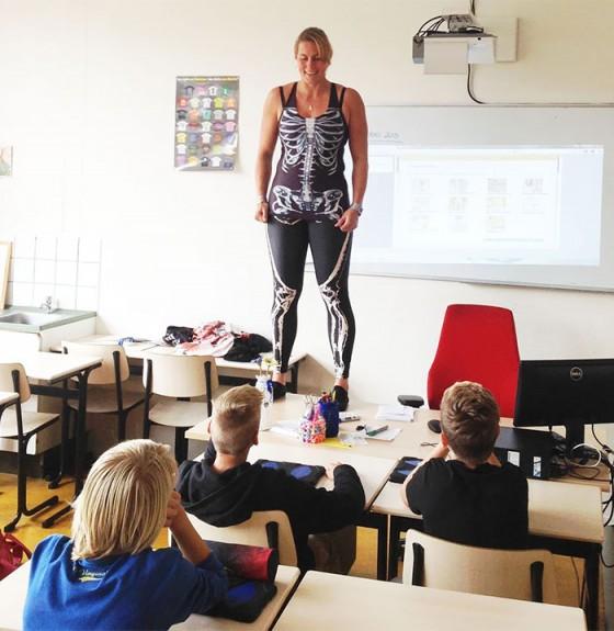 海外の人体の授業2