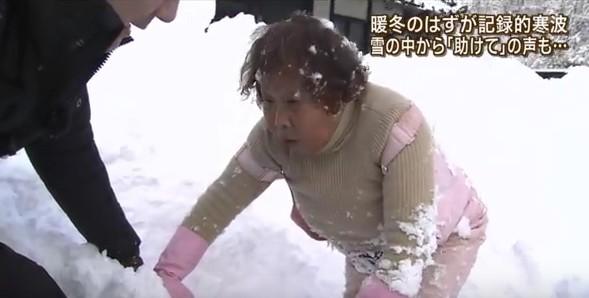 島根県で大寒波を取材してたら遭難者がいた