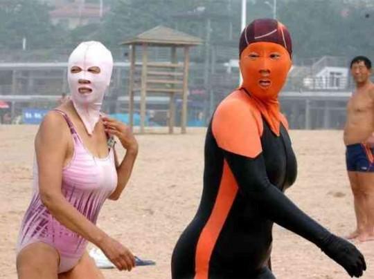 中国のヌーディストビーチが終了