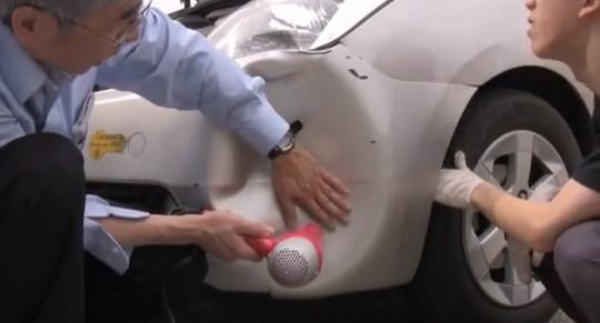 車のヘコみはドライヤーで修理出来る!