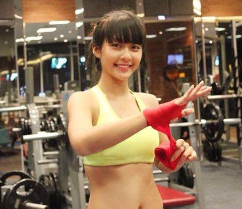 15歳のベトナム美少女ボクサーが可愛いい
