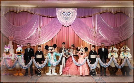 ディズニーランドで出来る結婚式が凄い10