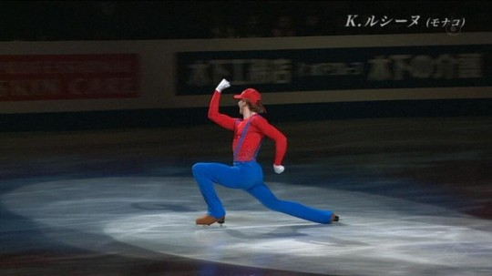 世界フィギュアスケートにあの人が!