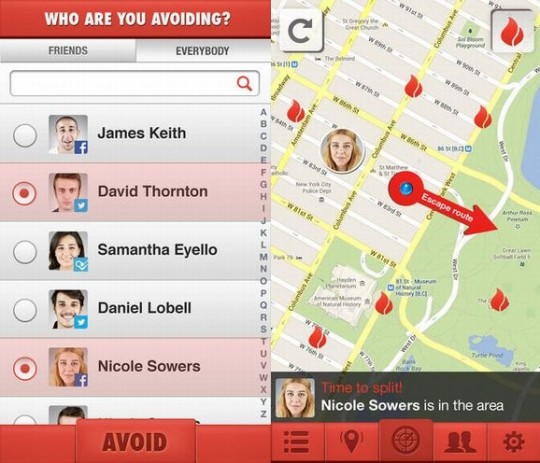 特定の人と距離が近づくと知らせるアプリが登場 (2)