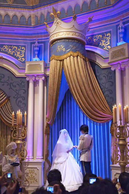 ディズニーランドで出来る結婚式が凄い2