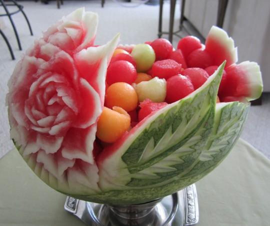 食べ物で作ったアートが凄い