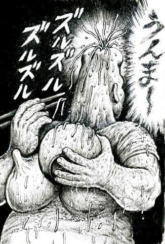 漫☆画太郎が描いた 「花のズボラ飯」駒沢花が凄い