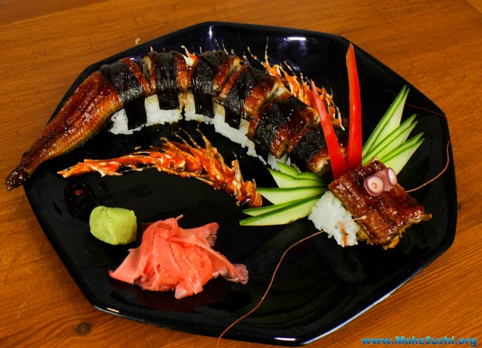 【寿司】ドラゴンロールが酷い