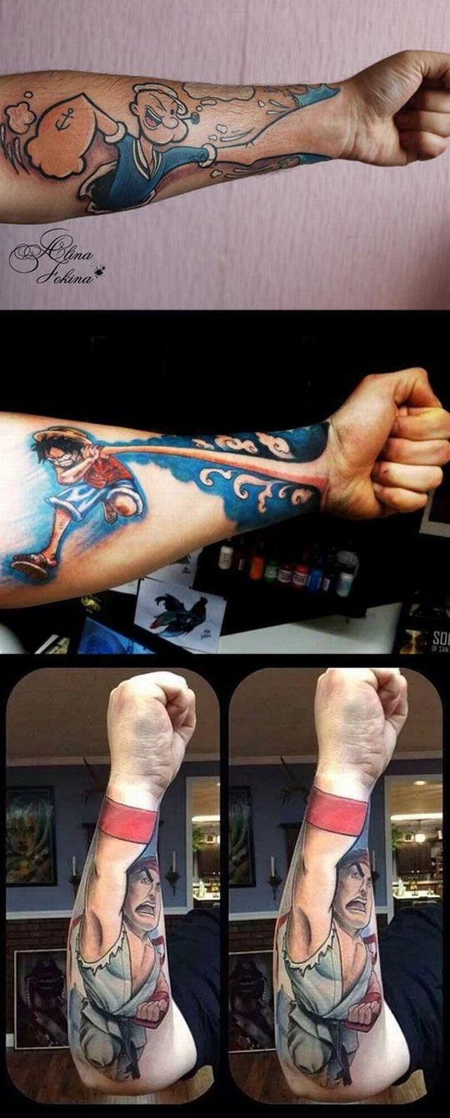 このタトゥーが凄い!
