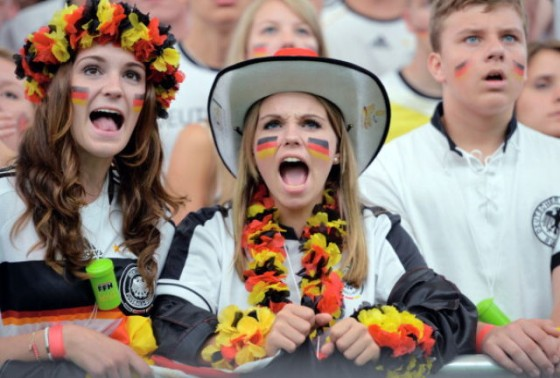 Germany Fans Watch 2014 FIFA World Cup