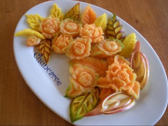 食べ物で作ったアートが凄い8